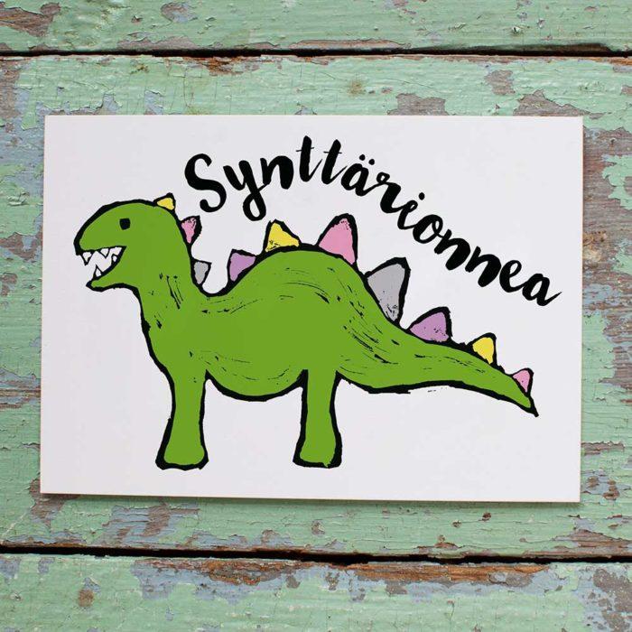 Kultamurunen dinosaurus