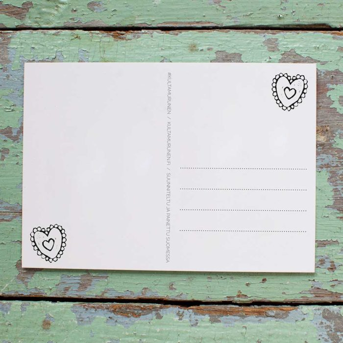 Kultamurunen postikortti