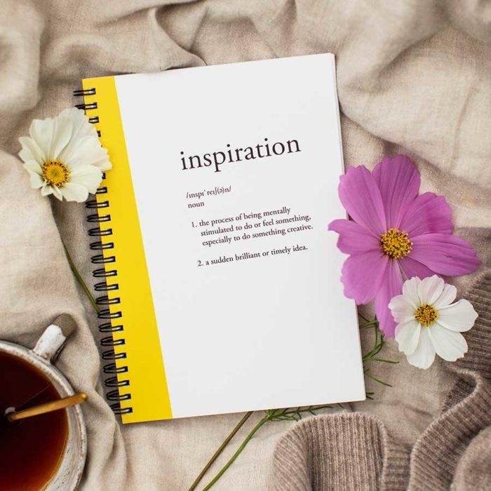 kultamurunen muistikirja inspiration