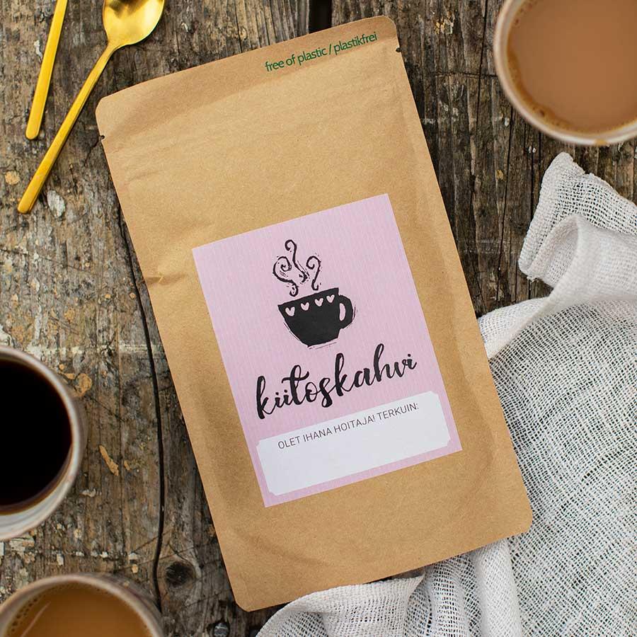 kultamurunen kahvi olet ihana hoitaja