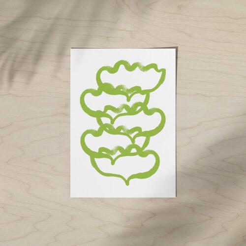 kultamurunen juliste kukkapino