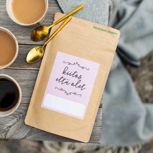 kultamurunen kiitos että olet kahvi